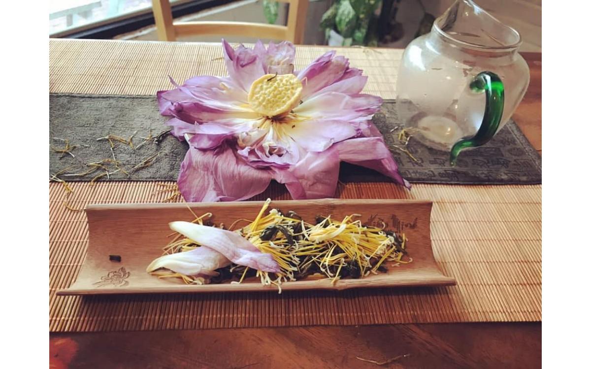 HOW TO BREW LOTUS TEA FLOWER - HƯỚNG DẪN PHA TRÀ SEN SỚM