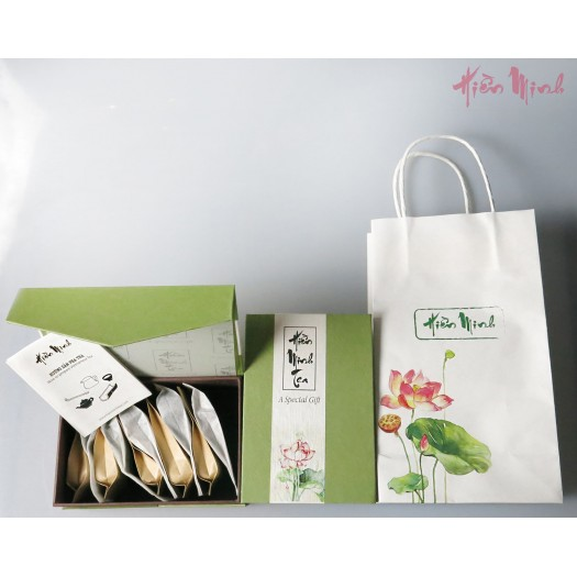 Set Quà Tặng 10 Gói Nhỏ (Gift set: 10 different tea types)