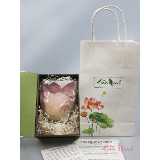 SPECIAL DRIED LOTUS TEA FLOWER (Trà sen sớm bông khô)